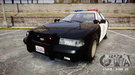 GTA V Vapid Cruiser LSP [ELS] para GTA 4