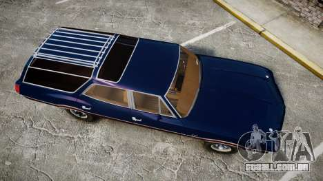 Oldsmobile Vista Cruiser 1972 Rims2 Tree4 para GTA 4 vista direita
