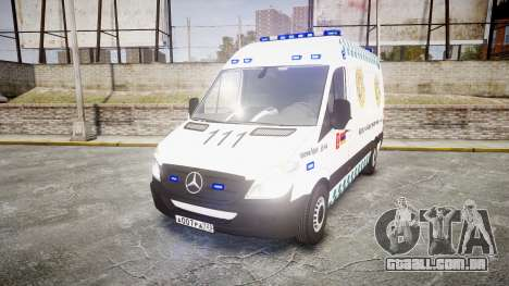 Mercedes-Benz Sprinter ARM Ambulance [ELS] para GTA 4