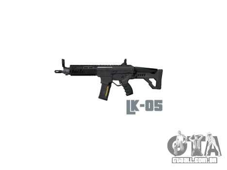 Máquina LC-05 estoque icon3 para GTA 4 terceira tela