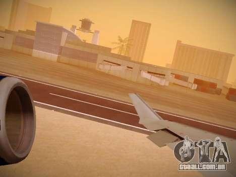 Bombardier CRJ-700 United Express para o motor de GTA San Andreas