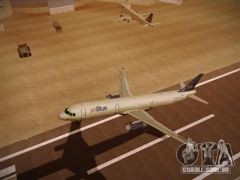 Airbus A321-232 Lets talk about Blue para GTA San Andreas vista superior