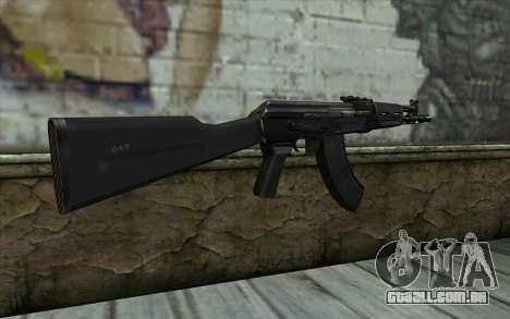 O AK-104 para GTA San Andreas segunda tela