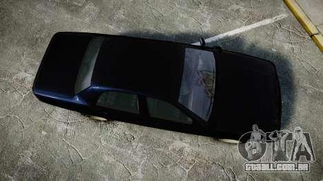 GTA V Vapid Cruiser Police Unmarked [ELS] Slick para GTA 4 vista direita
