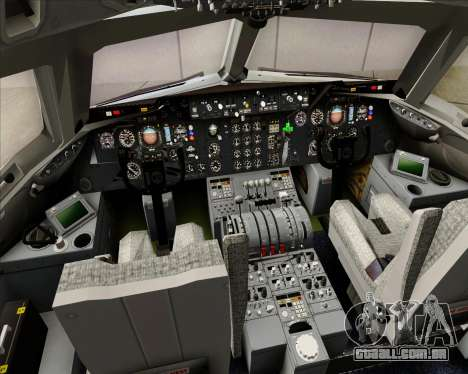 McDonnell Douglas DC-10-30 Northwest Airlines para GTA San Andreas interior