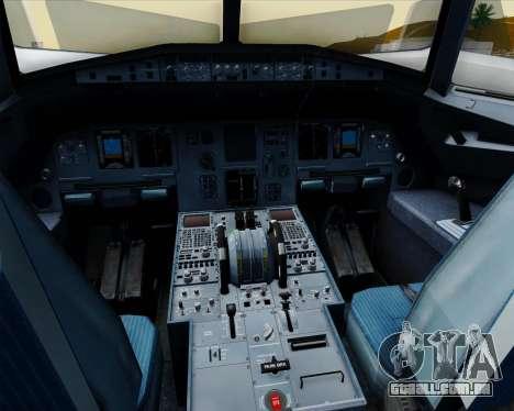Airbus A320-200 Jetstar Airways para GTA San Andreas interior