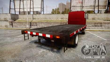 Maibatsu Mule Trail package para GTA 4 traseira esquerda vista