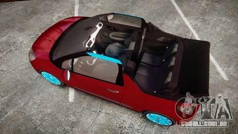 Citroen DS3 Convertible para GTA 4 vista direita