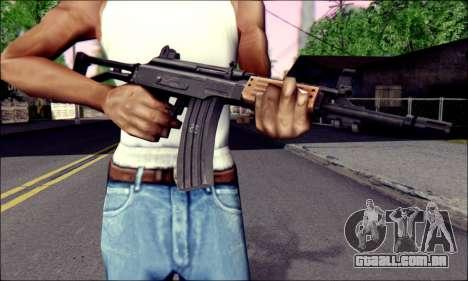 IMI Galil para GTA San Andreas terceira tela