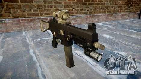 Arma UMP45 UM exército de fãs de couro AU para GTA 4