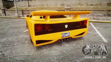 Livraga 350 para GTA 4 traseira esquerda vista