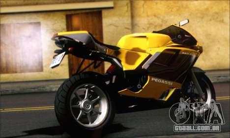 GTA 5 Pegassi Bati 801 para GTA San Andreas esquerda vista
