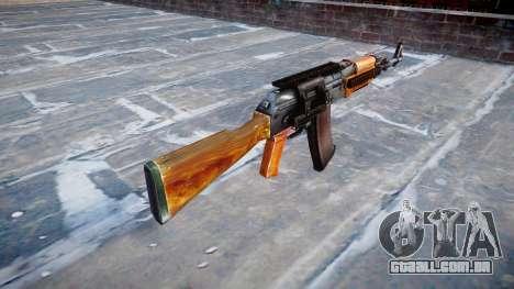 Kalashnikov modernizado (AKM) para GTA 4 segundo screenshot