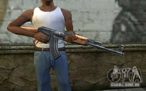 AK47 from Killing Floor v2 para GTA San Andreas terceira tela