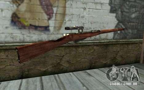 A Mosin (Battlefield: Vietnam) para GTA San Andreas segunda tela