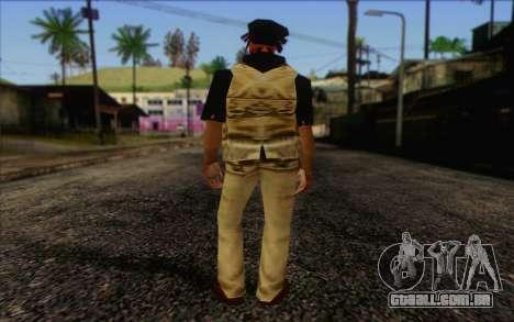 Yardies from GTA Vice City Skin 1 para GTA San Andreas segunda tela