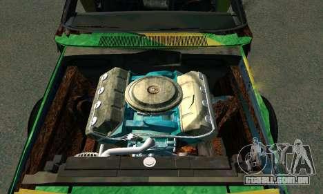 Dodge Charger HL2 EP2 para GTA San Andreas vista direita