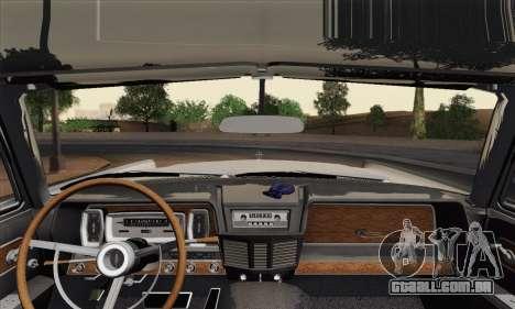 Lincoln Continental Sedan (53А) 1962 (HQLM) para GTA San Andreas traseira esquerda vista