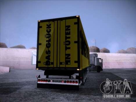 Trailer NETTO para GTA San Andreas esquerda vista