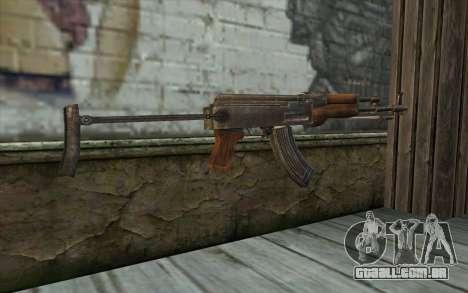 Тип 56-1 (АКМС) de Battlefield: Vietnam para GTA San Andreas segunda tela