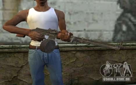 РПД de Battlefield: Vietnam para GTA San Andreas terceira tela