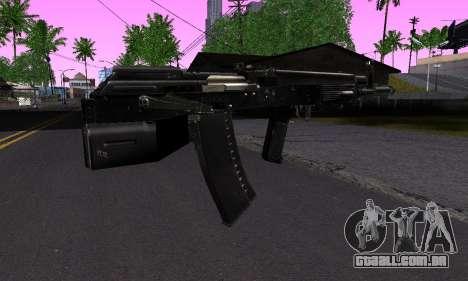Guerra para GTA San Andreas segunda tela