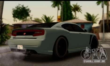 Bravado Buffalo S (IVF) para GTA San Andreas esquerda vista