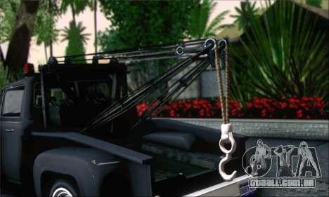 GTA 5 Towtruck para GTA San Andreas traseira esquerda vista