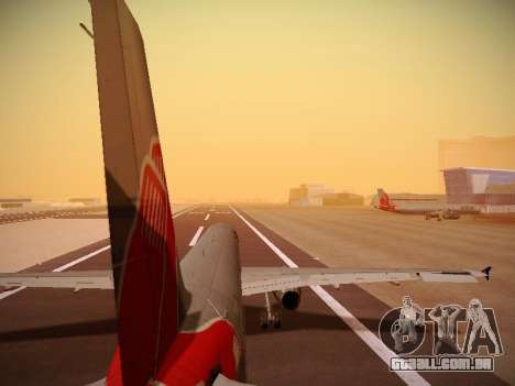 Airbus A321-232 jetBlue Boston Red Sox para GTA San Andreas