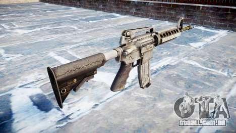 Automático carabina M4A1 para GTA 4 segundo screenshot