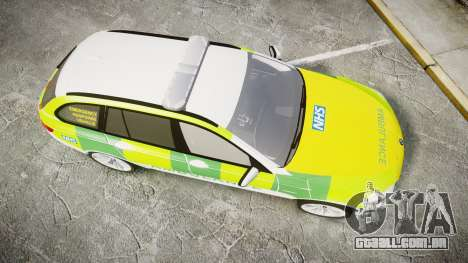 BMW 530d F11 Ambulance [ELS] para GTA 4 vista direita