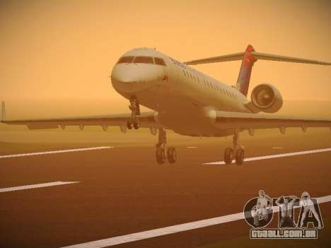 Bombardier CRJ-700 Delta Connection para GTA San Andreas