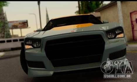Bravado Buffalo S (IVF) para GTA San Andreas traseira esquerda vista
