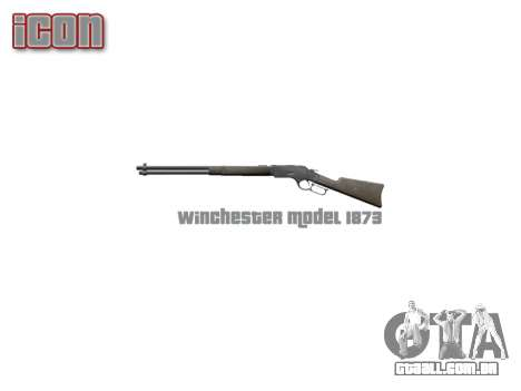 Rifle Winchester Modelo 1873 icon2 para GTA 4 terceira tela