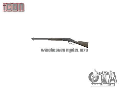 Rifle Winchester Modelo 1873 icon2 para GTA 4 terceira tela