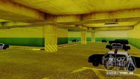 Veículos novos no LVPD para GTA San Andreas por diante tela