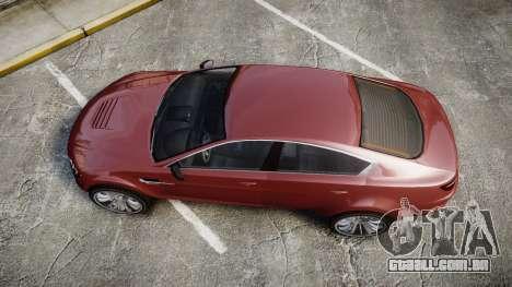 GTA V Ocelot Jackal para GTA 4 vista direita
