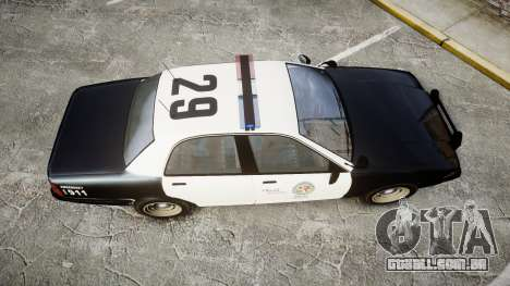 GTA V Vapid Cruiser LSP [ELS] para GTA 4 vista direita