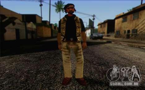 Yardies from GTA Vice City Skin 1 para GTA San Andreas