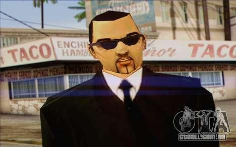 Leone from GTA Vice City Skin 2 para GTA San Andreas terceira tela