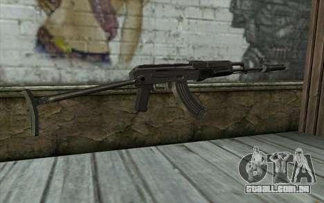 AKMS com CBE para GTA San Andreas segunda tela
