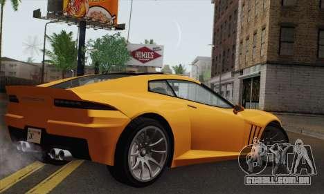 GTA 5 Invetero Coquette (IVF) para GTA San Andreas esquerda vista