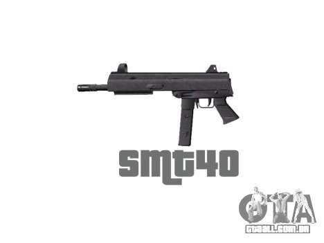 Arma SMT40 sem bunda icon1 para GTA 4 terceira tela