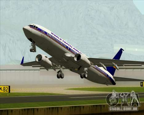 Boeing 737-800 World Travel Airlines (WTA) para GTA San Andreas