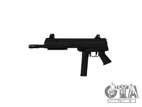 Arma SMT40 sem bunda icon2 para GTA 4 terceira tela