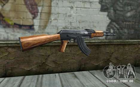 AK47 from Killing Floor v2 para GTA San Andreas segunda tela
