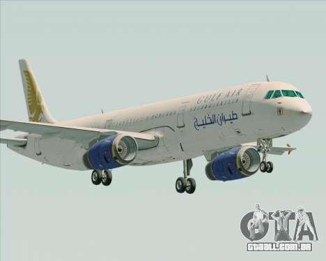 Airbus A321-200 Gulf Air para GTA San Andreas