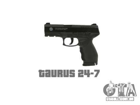 Pistola Taurus 24-7 preto icon1 para GTA 4 terceira tela