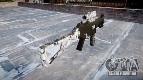 Arma UMP45 Diamante para GTA 4 segundo screenshot