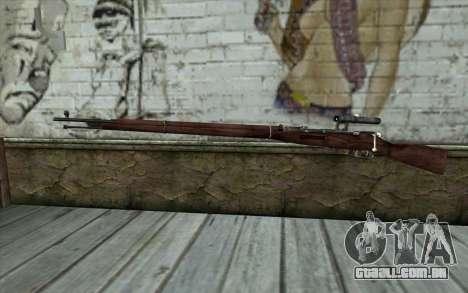 A Mosin (Battlefield: Vietnam) para GTA San Andreas